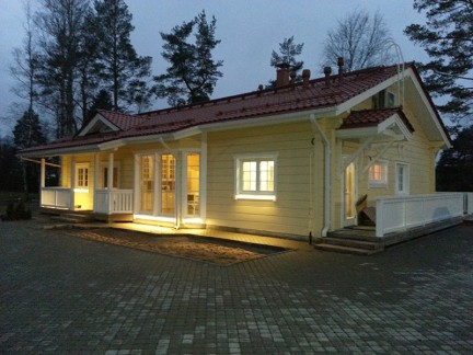 Guest house near the lake (Intelliger Ltd.). Saint Petersburg, Russia
