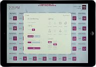 iRidium-based project (Medicare Women and Children Hospital). Control interface