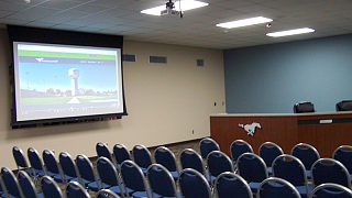 Friendswood ISD Boardroom
